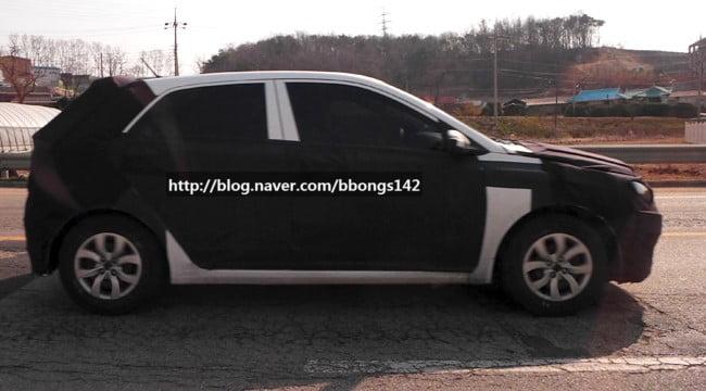 New Hyundai i20 Testing Spyshot
