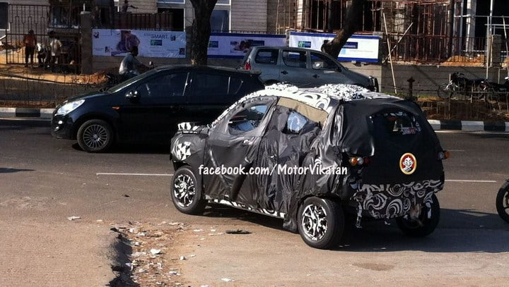 Mahindra S101 Compact SUV Spy Pictures And Details