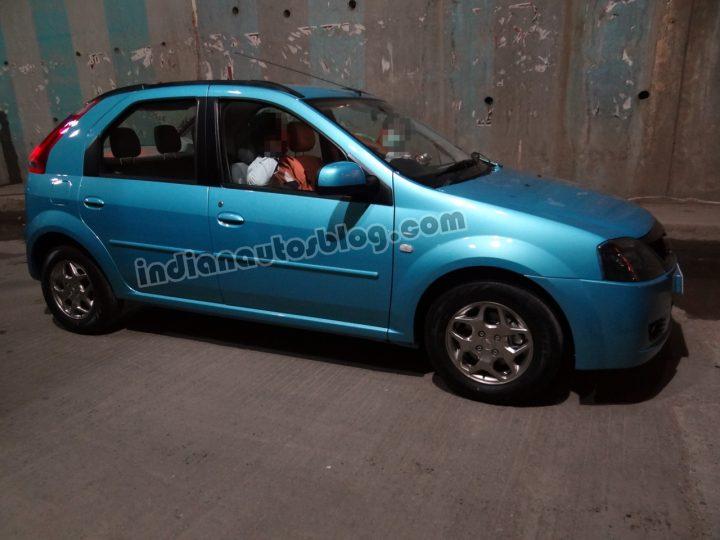 Mahindra Verito Vibe Spy Shot