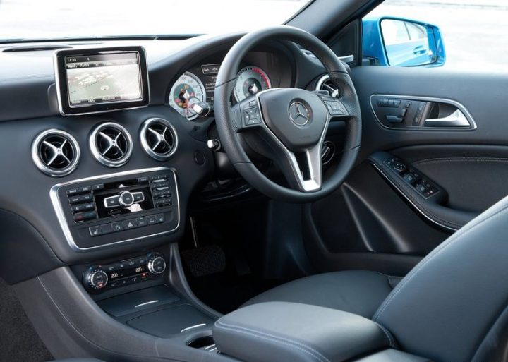 Mercedes- Benz A-Class Launched In India, Interior