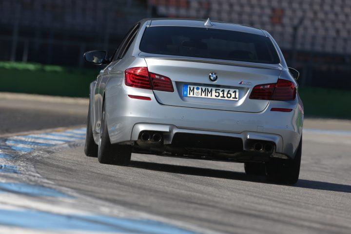 2014 BMW M5 rear