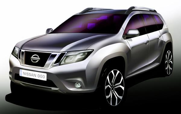 Official Nissan Terrano Sketch