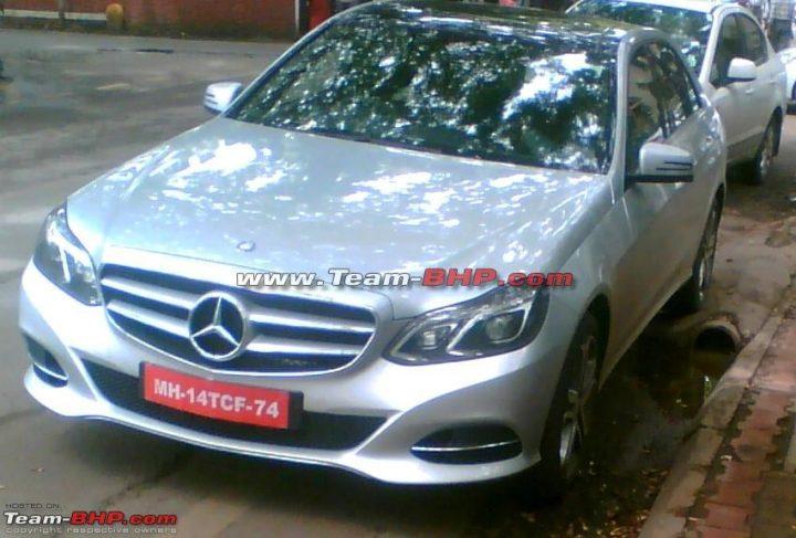 2014 Mercedes Benz EClass Spyshot 1