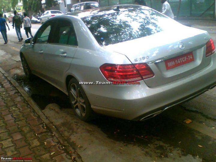 2014 Mercedes Benz EClass Spyshot 4