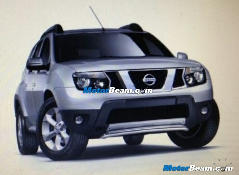 Nissan Terrano To Be Priced From Rs.8.90 Lakhs