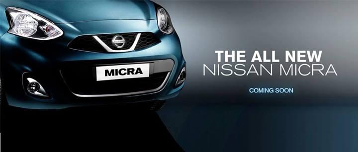 Nissan Micra Facelift Teaser