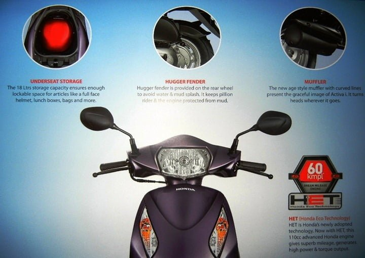 Honda Activa-i i Launched- Price, Video Review, Features