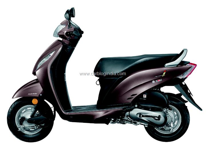 Honda Activa i Purple