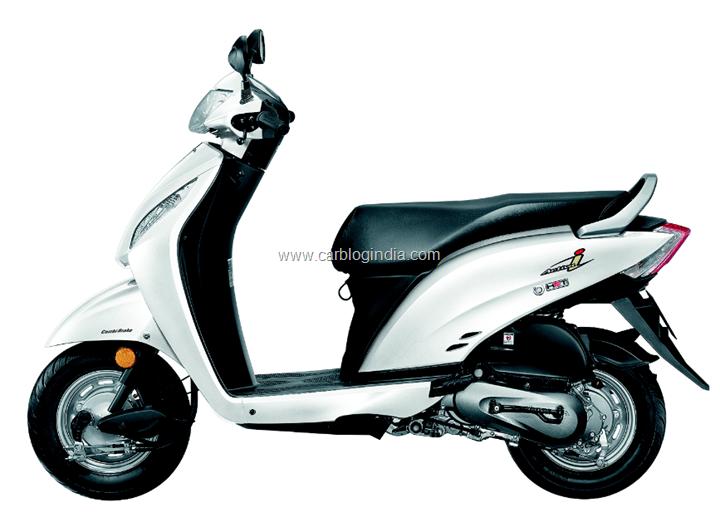 Honda Activa i white