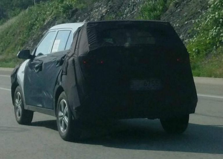 Upcoming Sub-4-Metre SUV From Hyundai Spied In Korea