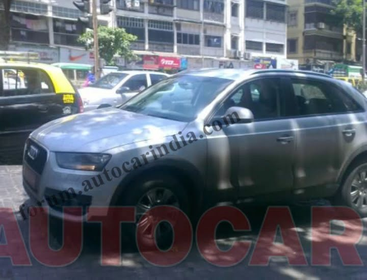 Audi Q3 Cheaper Variant Spy Shot