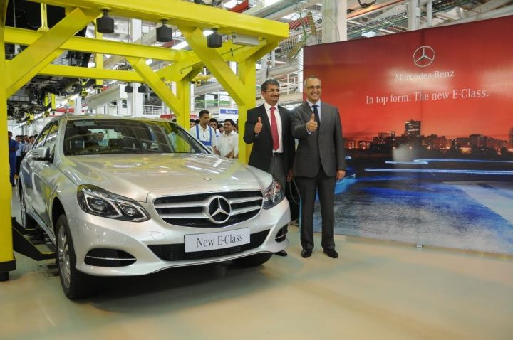 Mercedes-Benz Rolls Out First Locally Assembled E-Class