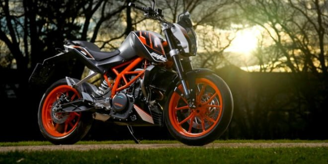 KTM 390 Duke Featured Image
