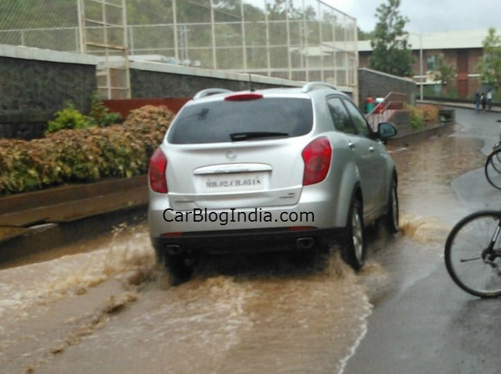 Exclusive: Ssangyong Korando Spied Testing By Car Blog India
