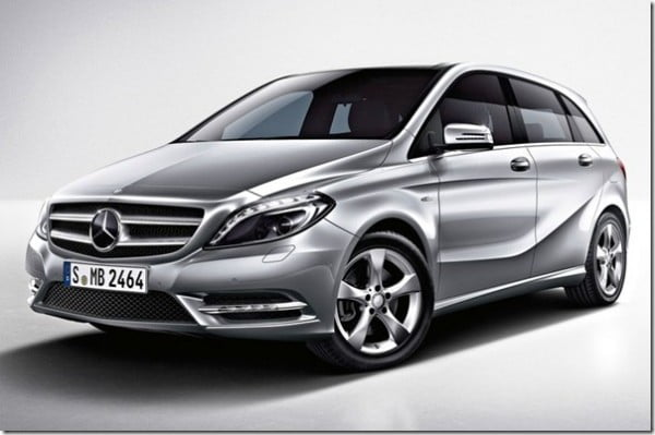 Mercedes-Benz B-Class Diesel Launched In India