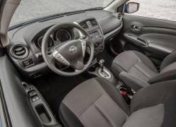 2015 Nissan Versa Interior Front Cabin Driver Side View