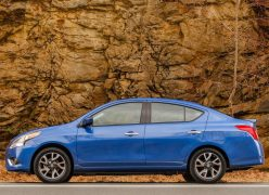 2015 Nissan Versa Left Side Profile
