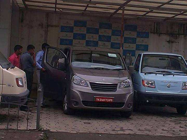Ashok Leyland Stile Front Spy Shot