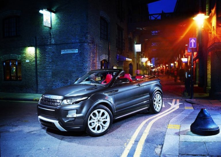 Range Rover Evoque Convertible To Go Into Production