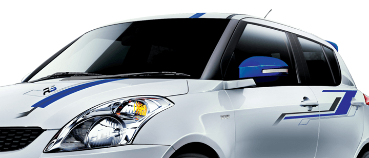 Maruti Swift RS Graphics
