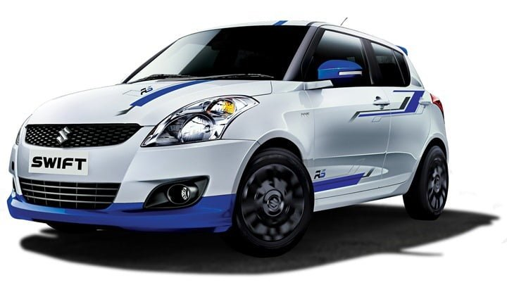 2013 Maruti Swift RS Limited Edition Launched In India At Rs. 5.23