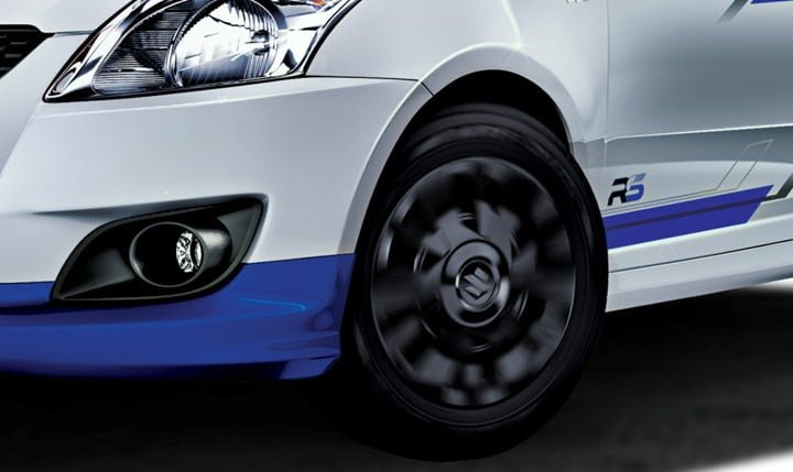 Maruti Swift RS Wheels and Fog Lamps