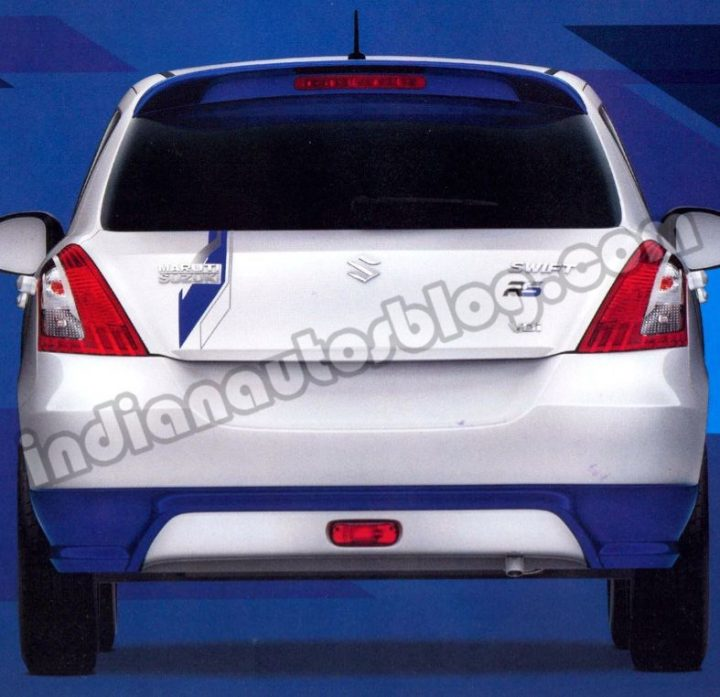 Maruti-Swift-RS-rear