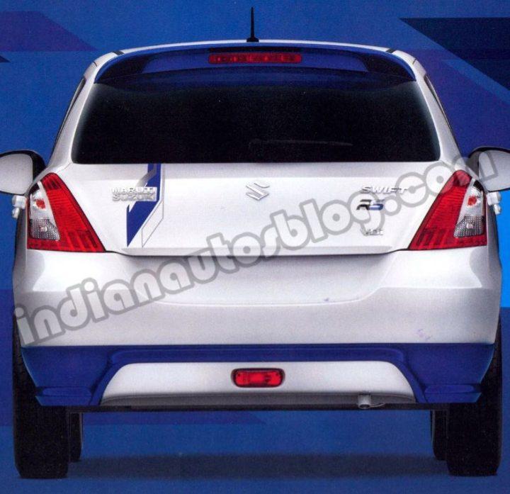 Maruti-Swift-RS-rear