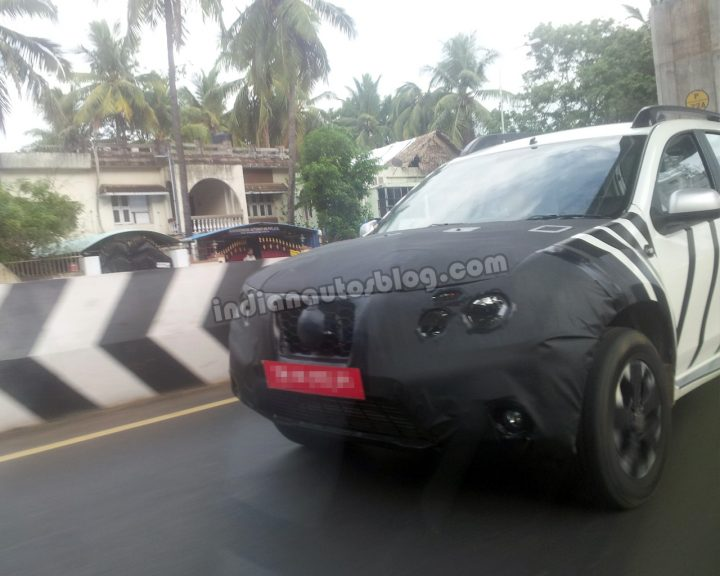 Nissan Terrano Front End Spy Shot