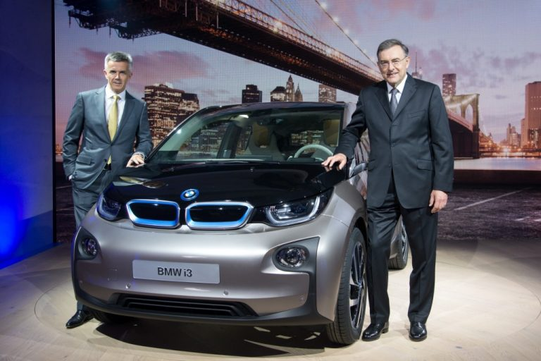 BMW i3 Unveiled; Pictures and Details Inside