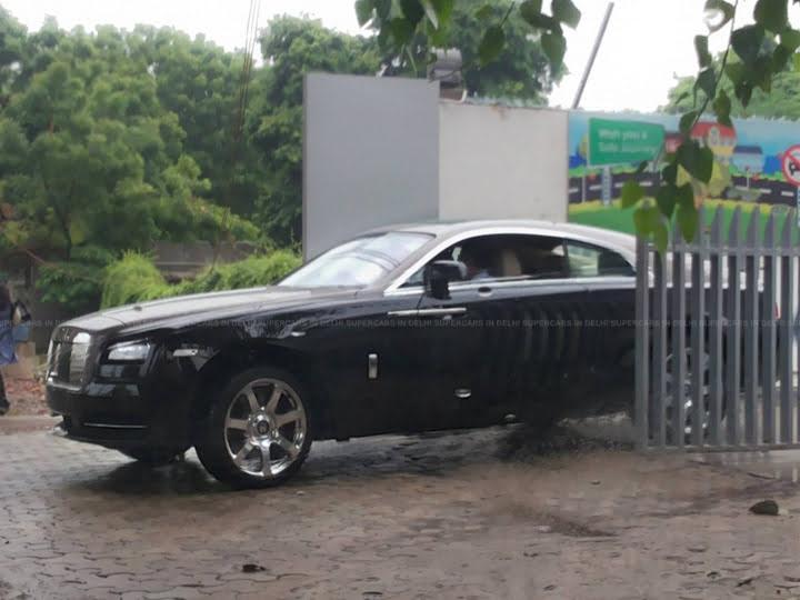 Roll Royce Wraith Spy Shot