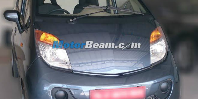 Tata Nano Diesel Spied Without Camoflague