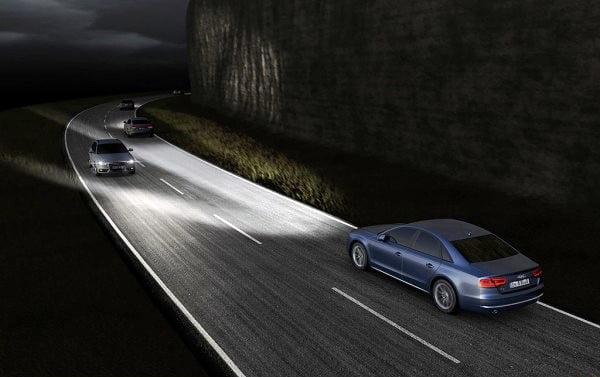 Audi A8 Matrix LED Headlights