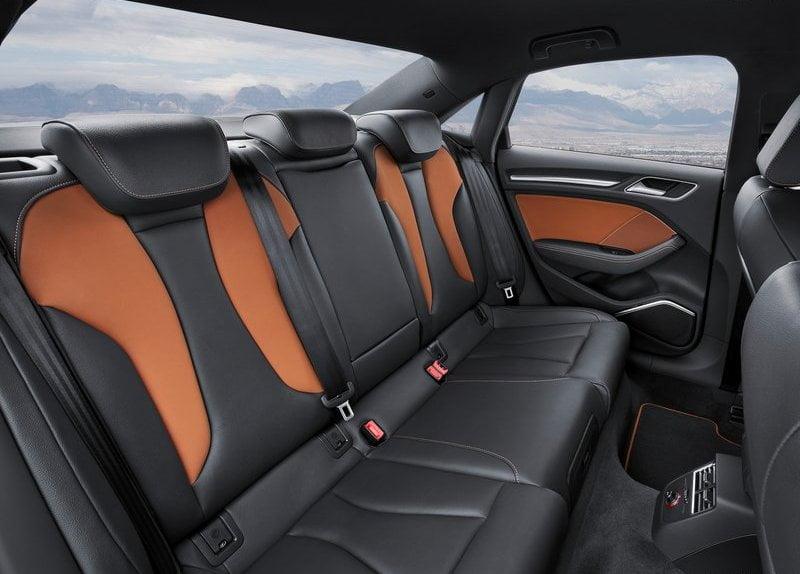 2014 Audi A3 Interior Rear Cabin  CarBlogIndia
