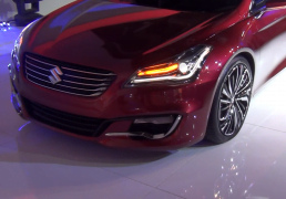 2014 Maruti Suzuki Ciaz Concept Headlight and Bumper