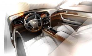 2015 Hyundai Sonata Teaser Image interiors Front Cabin