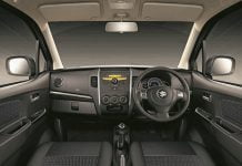 Maruti Suzuki Wagon R Stingray Interior Front Cabin
