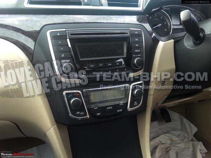 2014 Maruti SX4 Dashboard