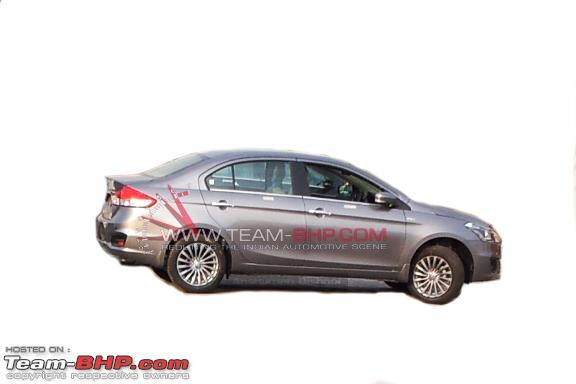 2014 Maruti SX4 Side View