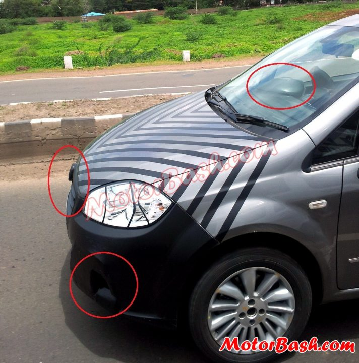 2014 Fiat Linea Spy Picture India