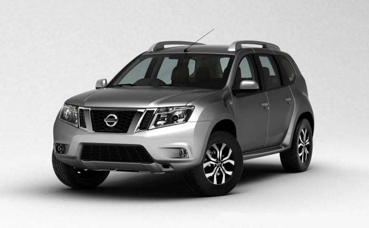 Nissan Terrano Front