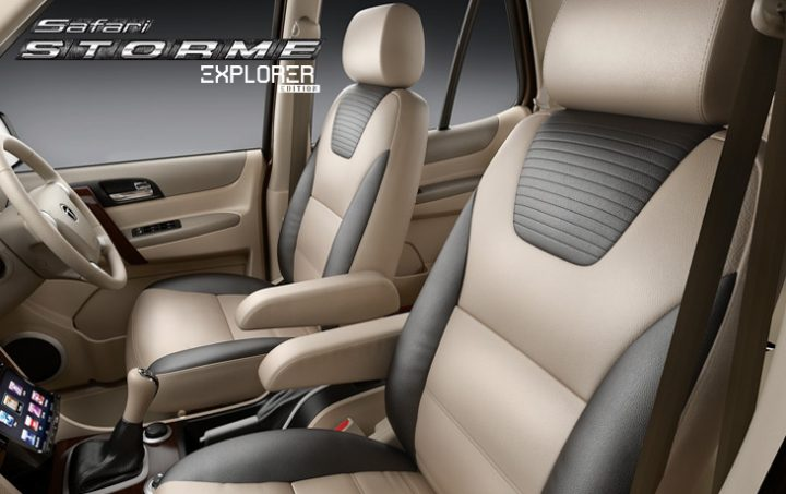 Tata Safari Storme Explorer Edition Interiors