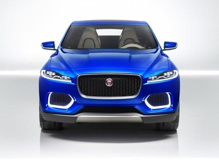 Jaguar C-X17 Crossover Concept Front