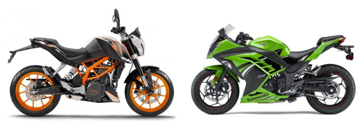 Recalled: KTM 390 Duke and Kawasaki Ninja 300