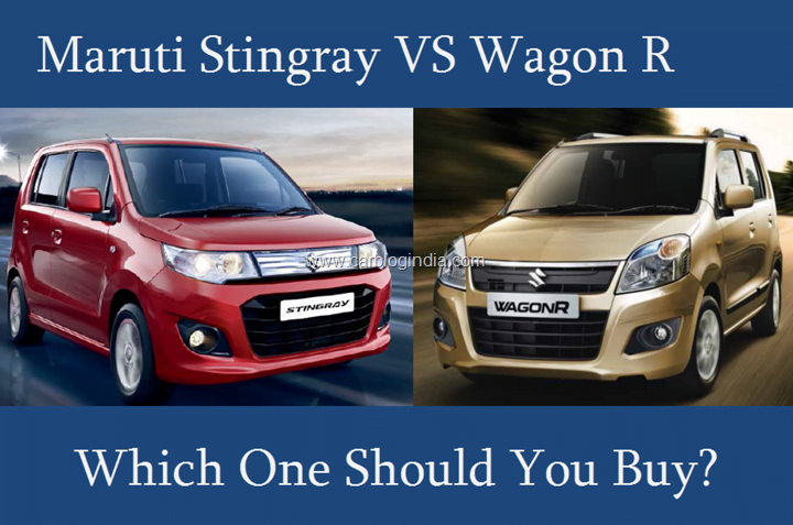 Maruti Stingray VS Wagon R