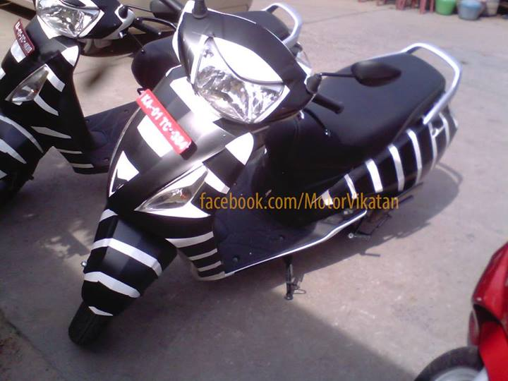 Update: TVS Wego Based Scooter May Be Launched On 16th September 2013