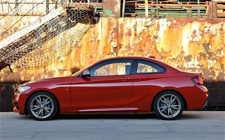2014 BMW 2-Series Left Side Profile