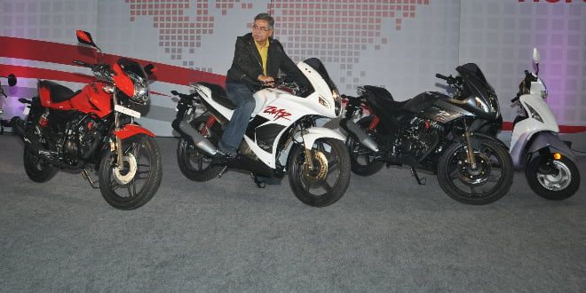 Hero Motocorp Updates Range Of Scooters And Motorcycles In India