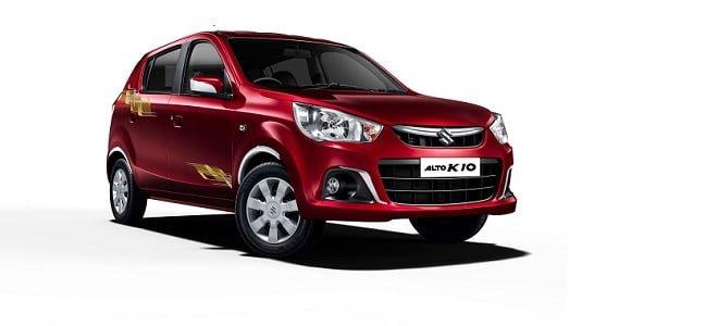 Best car in India - Maruti Suzuki ALTO K10 Urbano limited edition cover