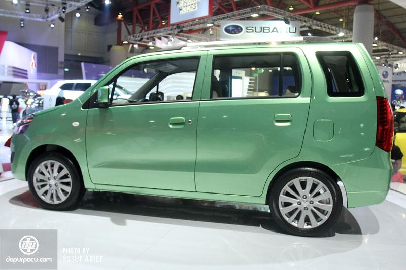 Maruti Wagon R with extended wheelbase at Auto Expo 2018